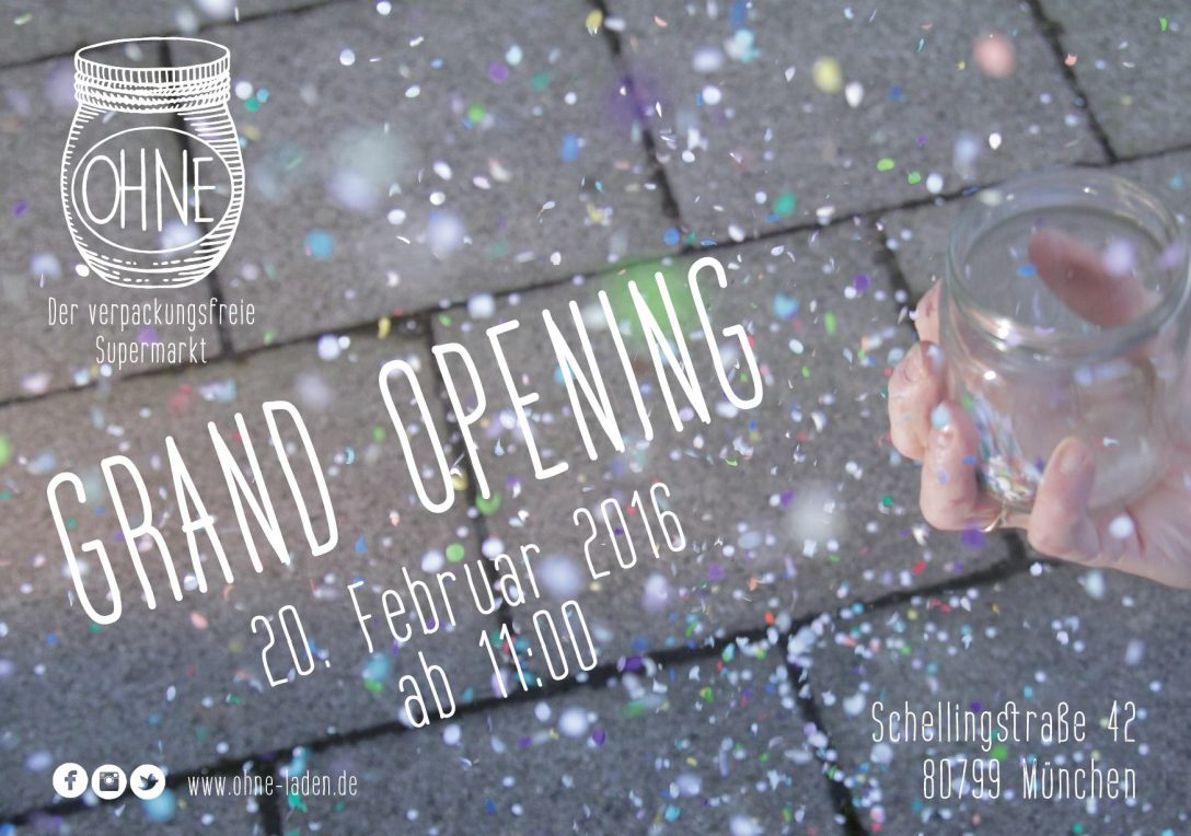 Ohne Laden – Grand Opening am 20.02.