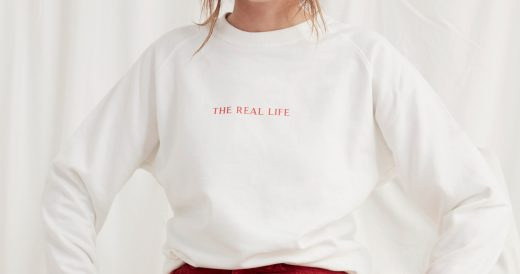 "Türchen 15: 2x ""The Real Life"" Sweater von WOMOM"