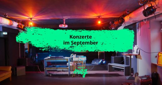 Konzert-Highlights im September